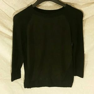 2for$13 3/4 sleeve sweater with polyester front